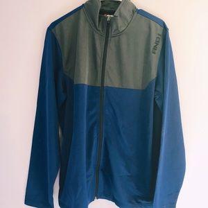 Men's jacket and jogger set, size medium